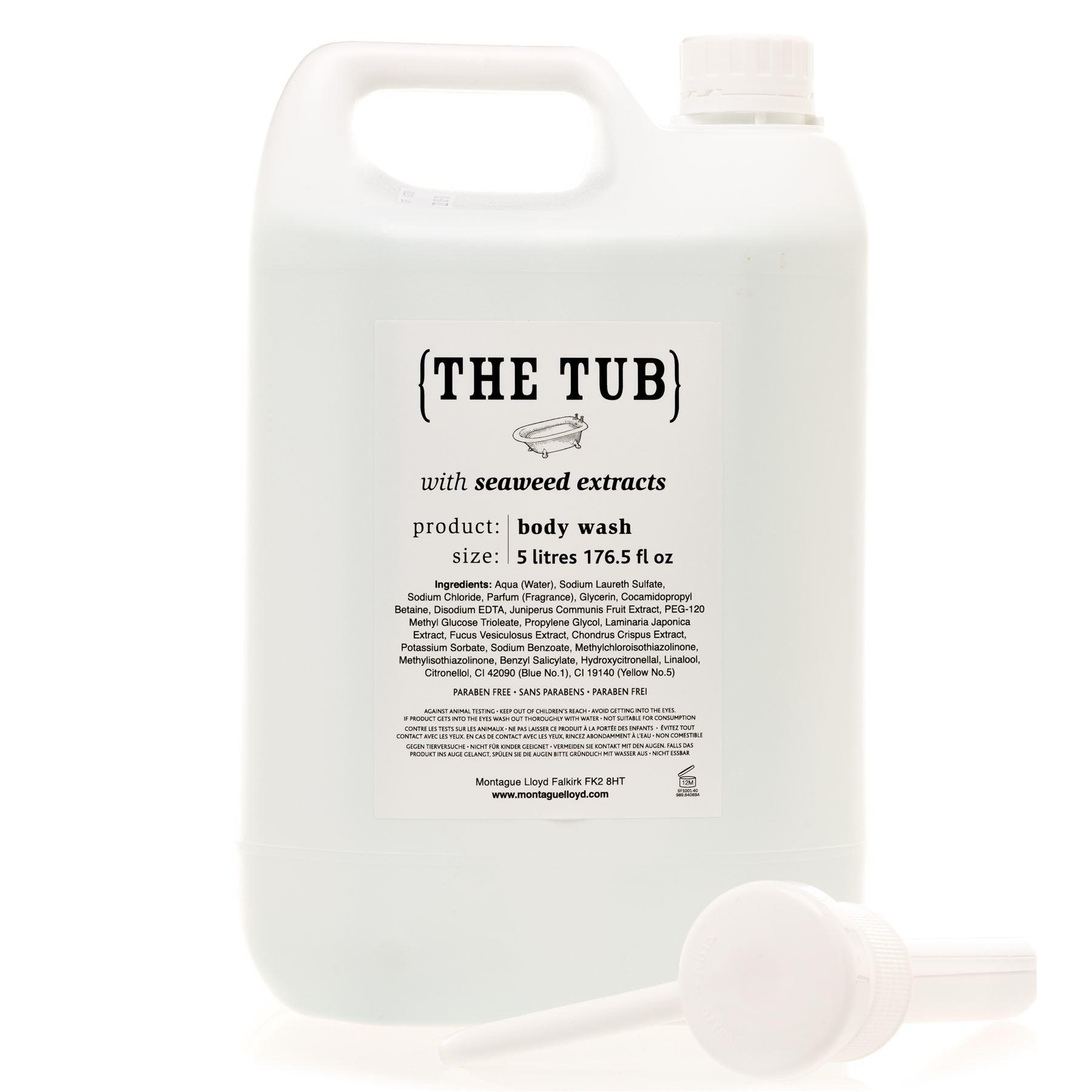 Montague Lloyd Commercial 'The Tub' Seaweed Extracts Body Wash Refill with Pump Dispenser