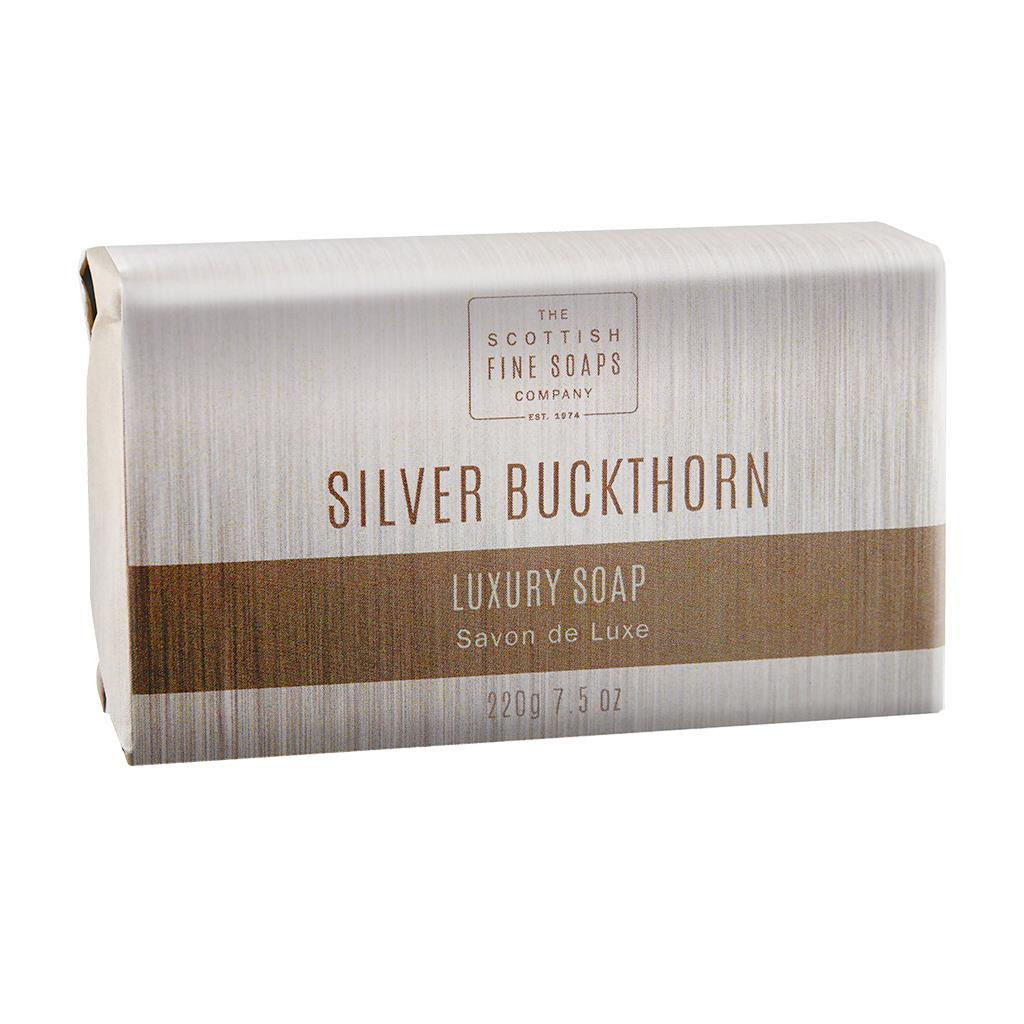 Scottish Fine Soaps Silver Buckthorn Luxury Soap Bar (220g)