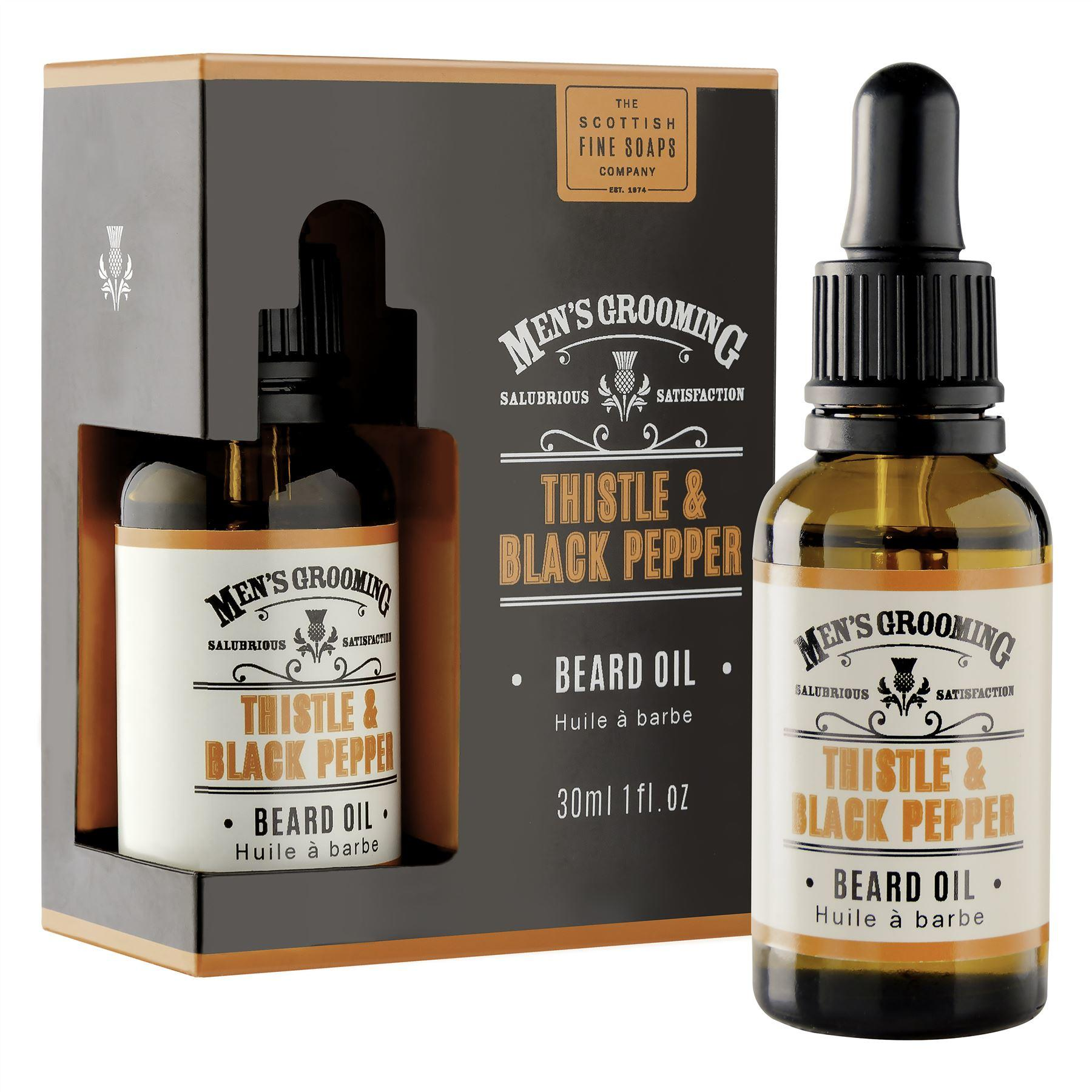 Scottish Fine Soaps Thistle & Black Pepper Beard Oil