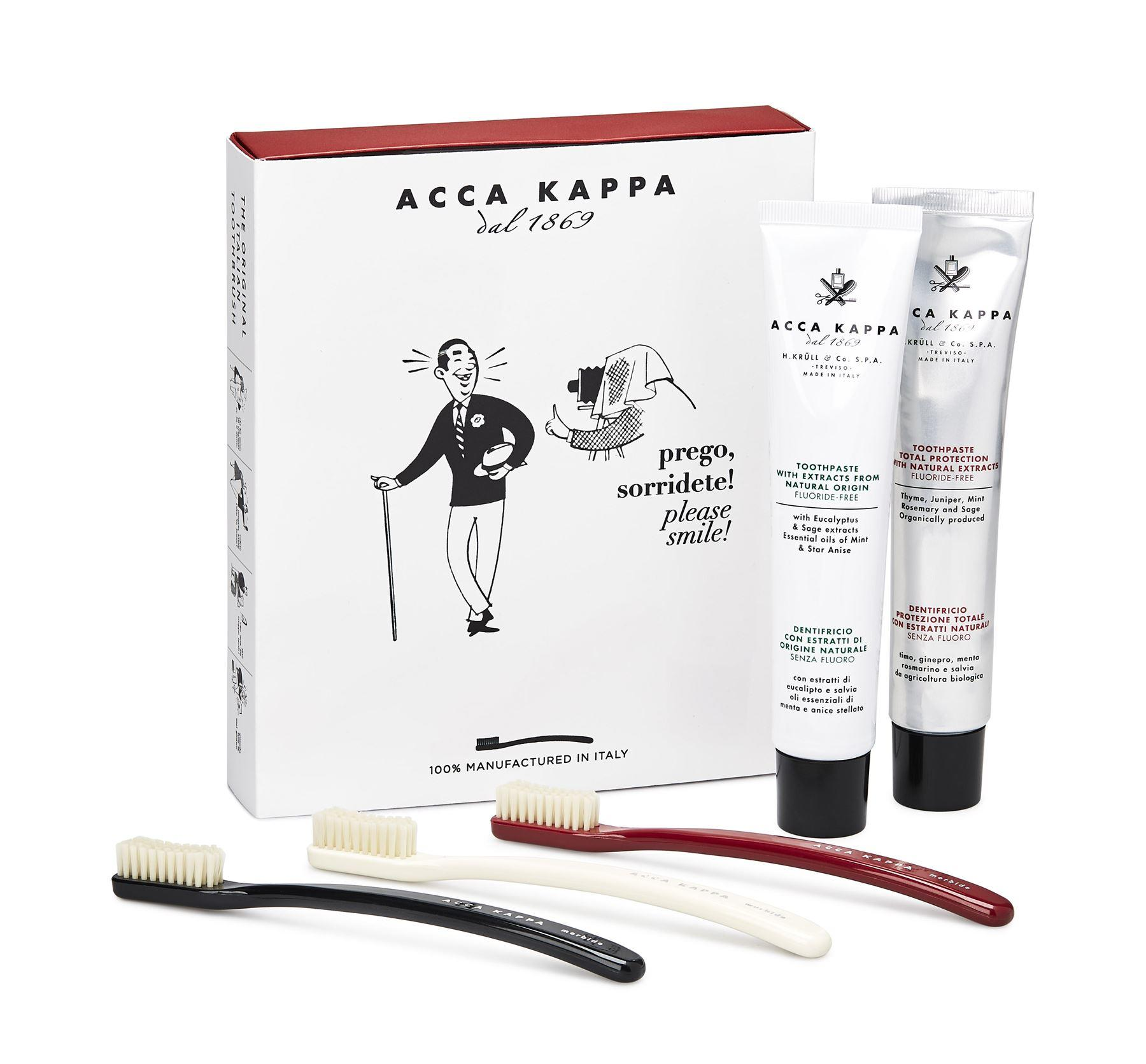 Acca Kappa Vintage Tooth Brush Collection