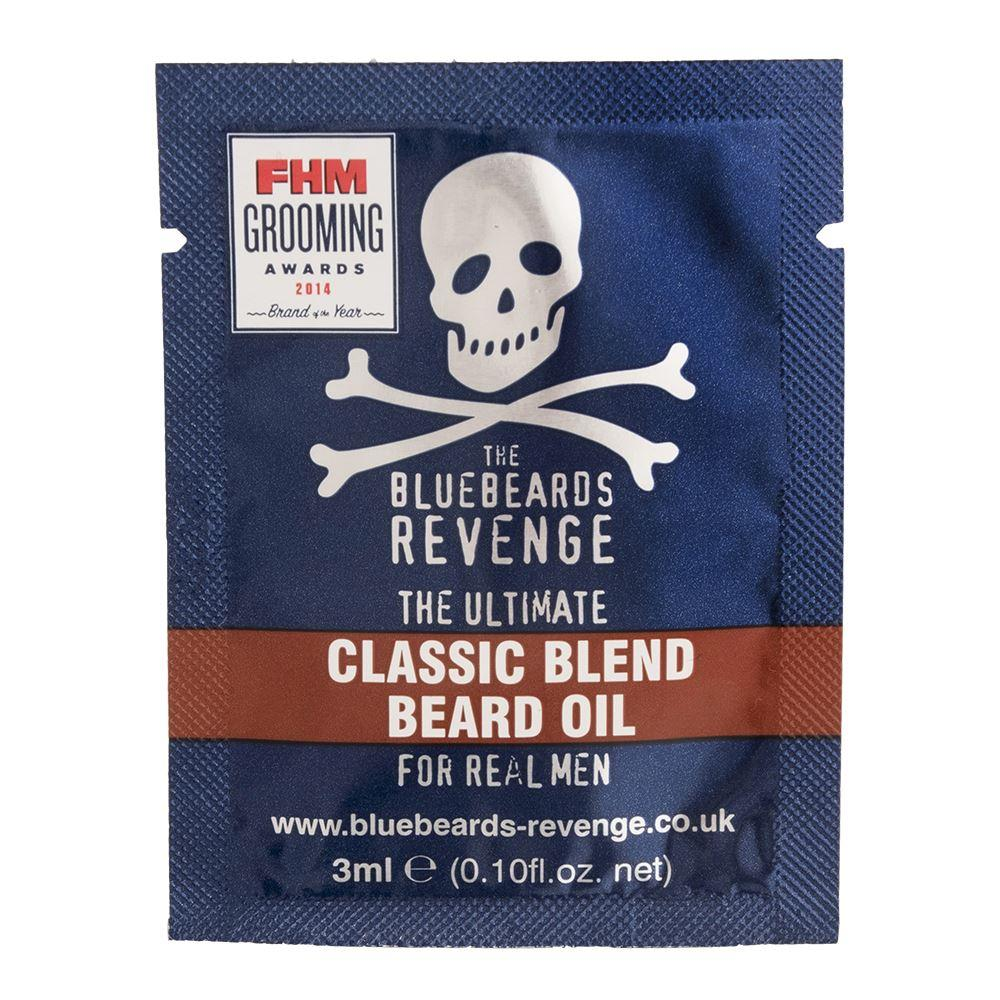 Bluebeards Revenge Classic Blend Beard Oil Sample Sachet (3ml)