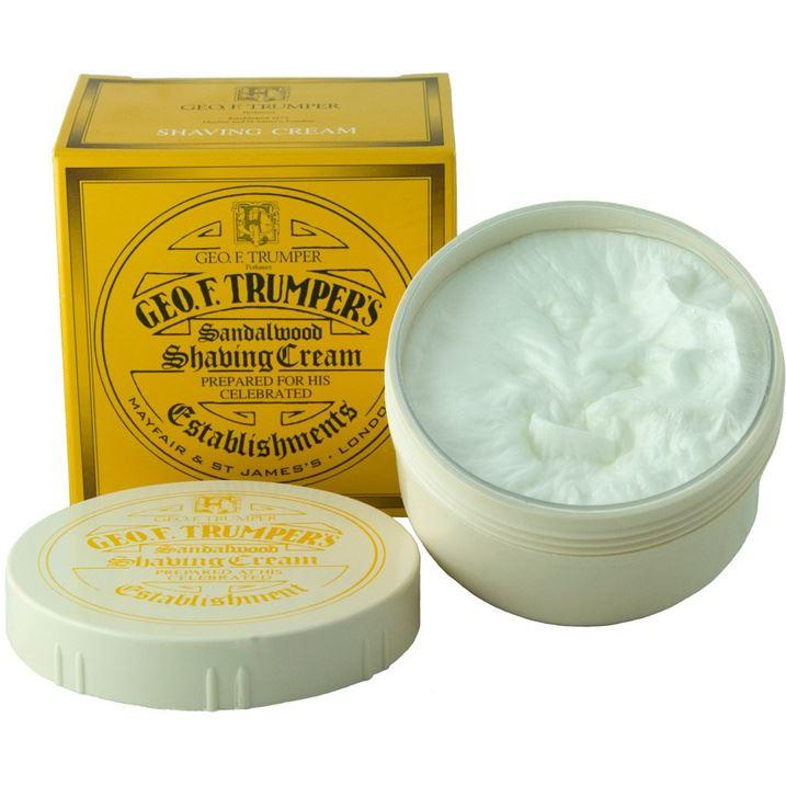 Geo F Trumper Sandalwood Shaving Cream Bowl