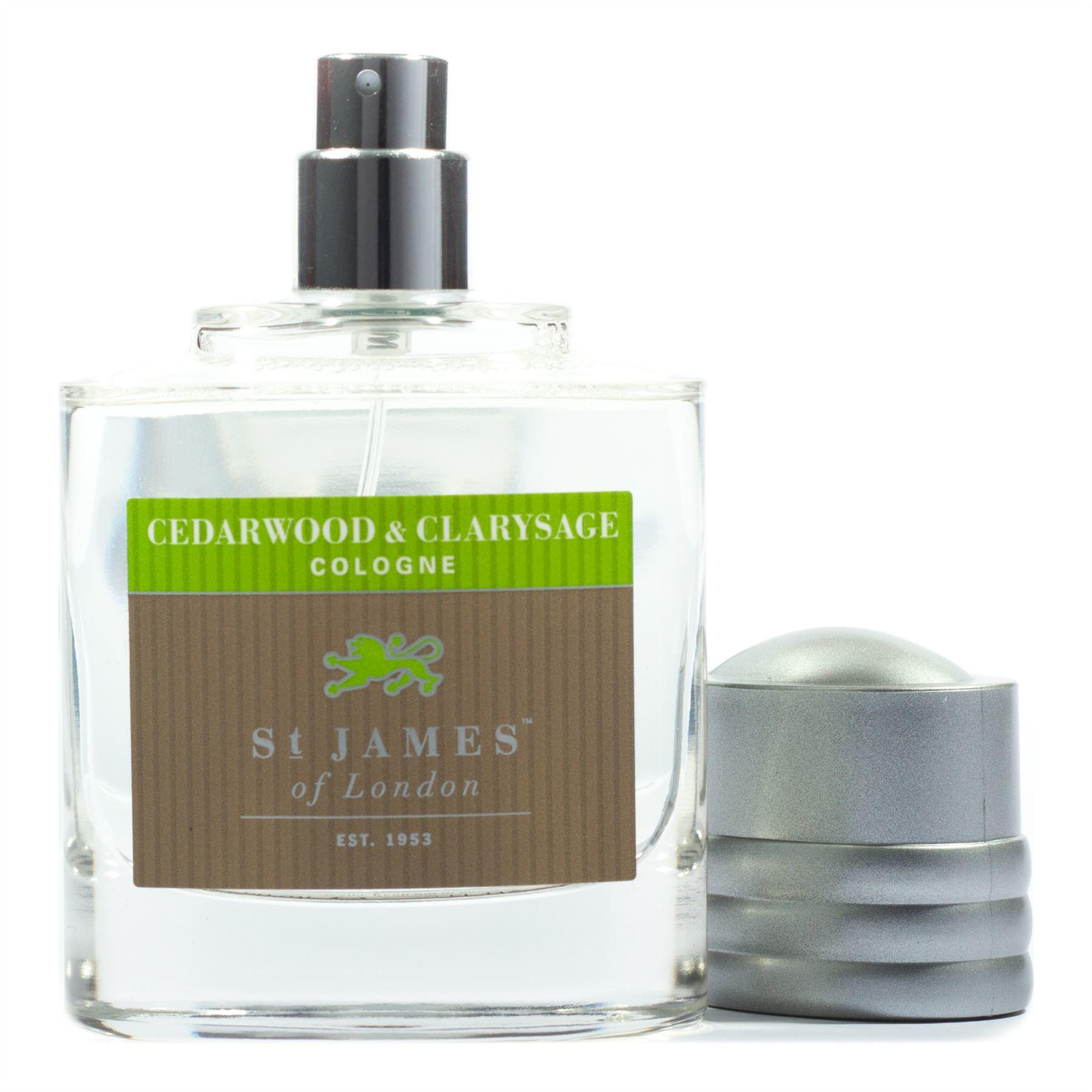 St James of London Cedarwood & Clarysage Atomiser Cologne