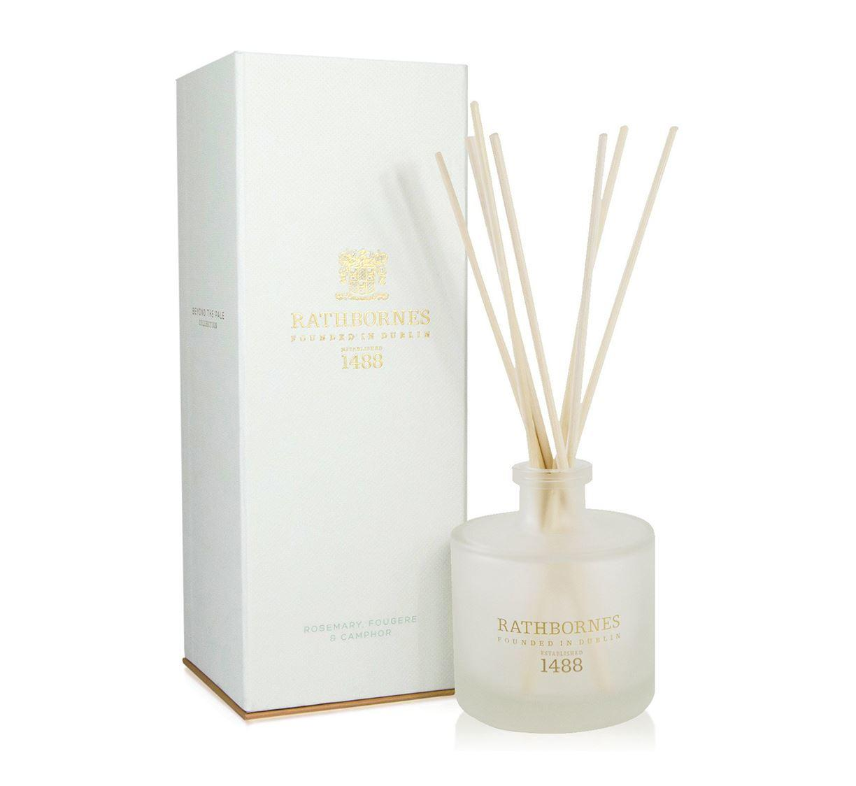 Rathbornes 1488 Rosemary, Fougere & Camphor Scented Reed Diffuser