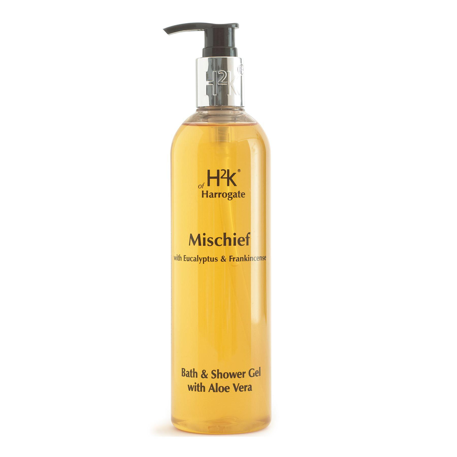 H2K Mischief Large, 400ml Bath & Shower Gel