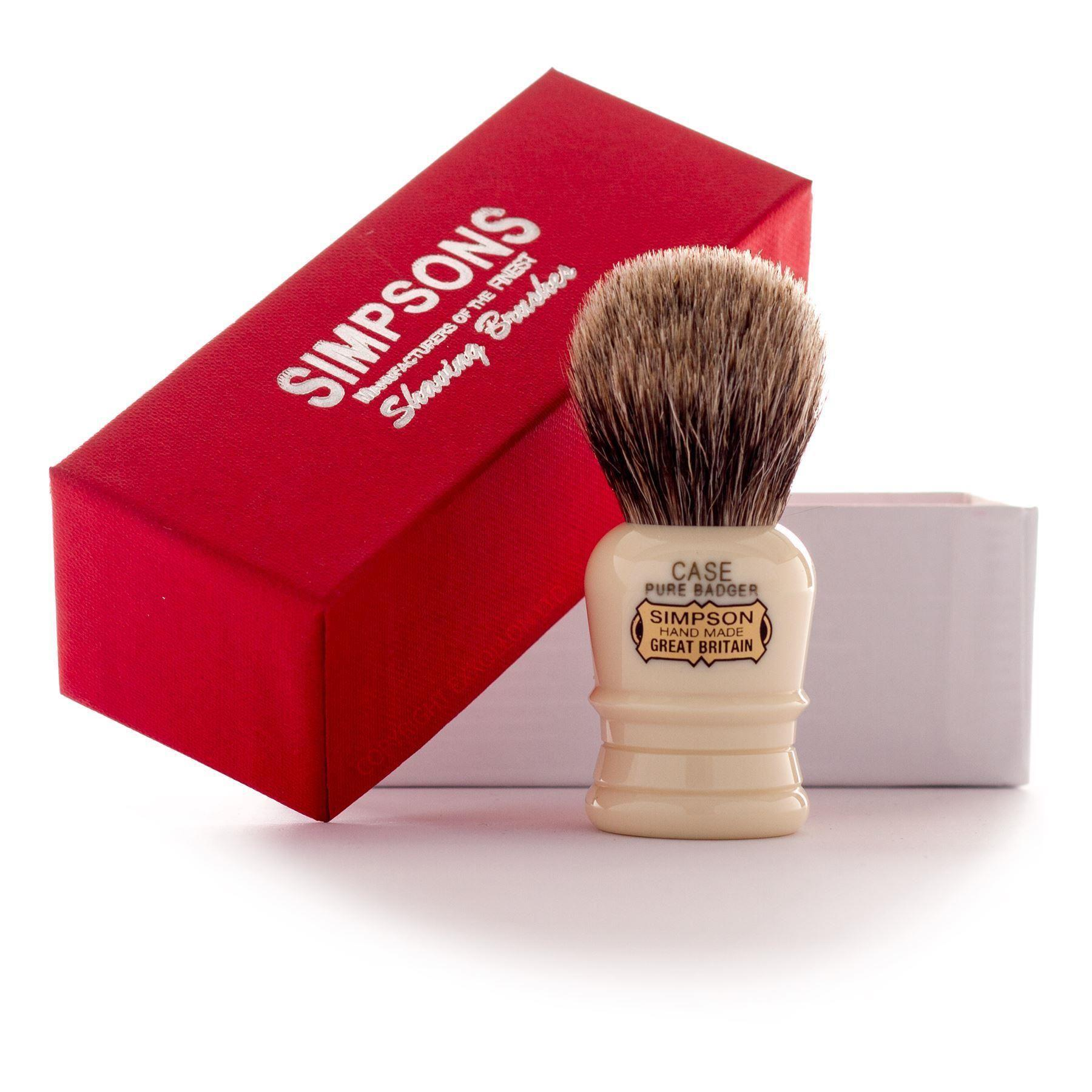 Simpsons 'The Case' Best Badger Hair Shaving Brush
