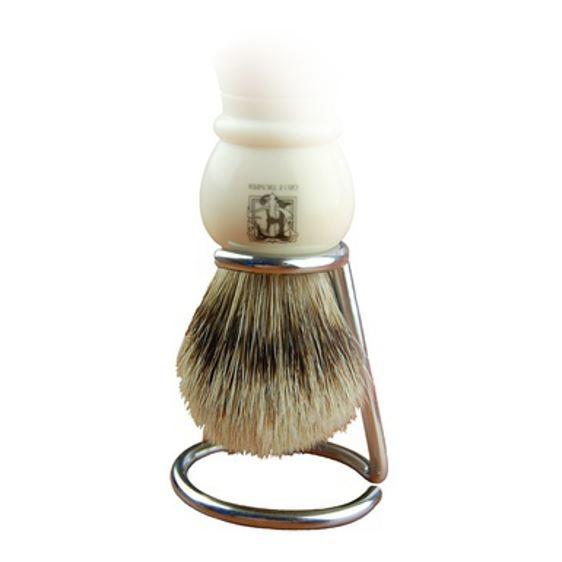 Geo F Trumper Chrome Shaving Brush Drip Stand