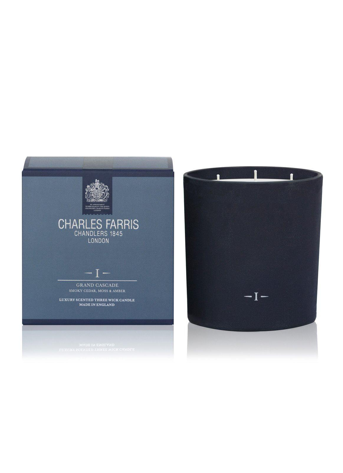 Charles Farris Grand Cascade 3 Wick Candle
