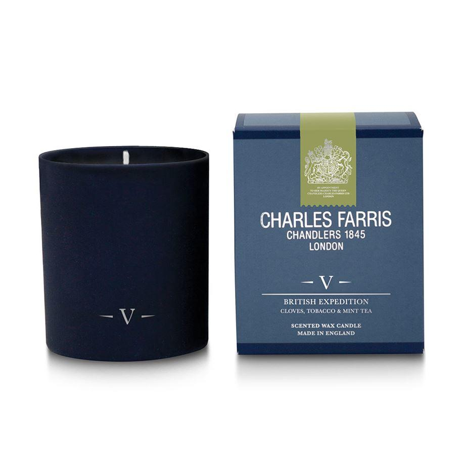 Charles Farris British Expedition V Single Wick Candle