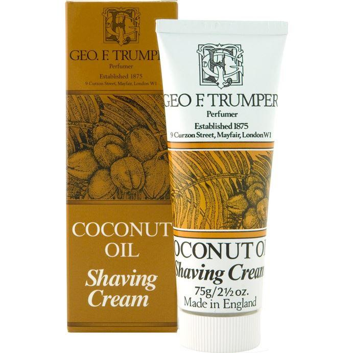 Geo F Trumper Coconut Shaving Cream Tube