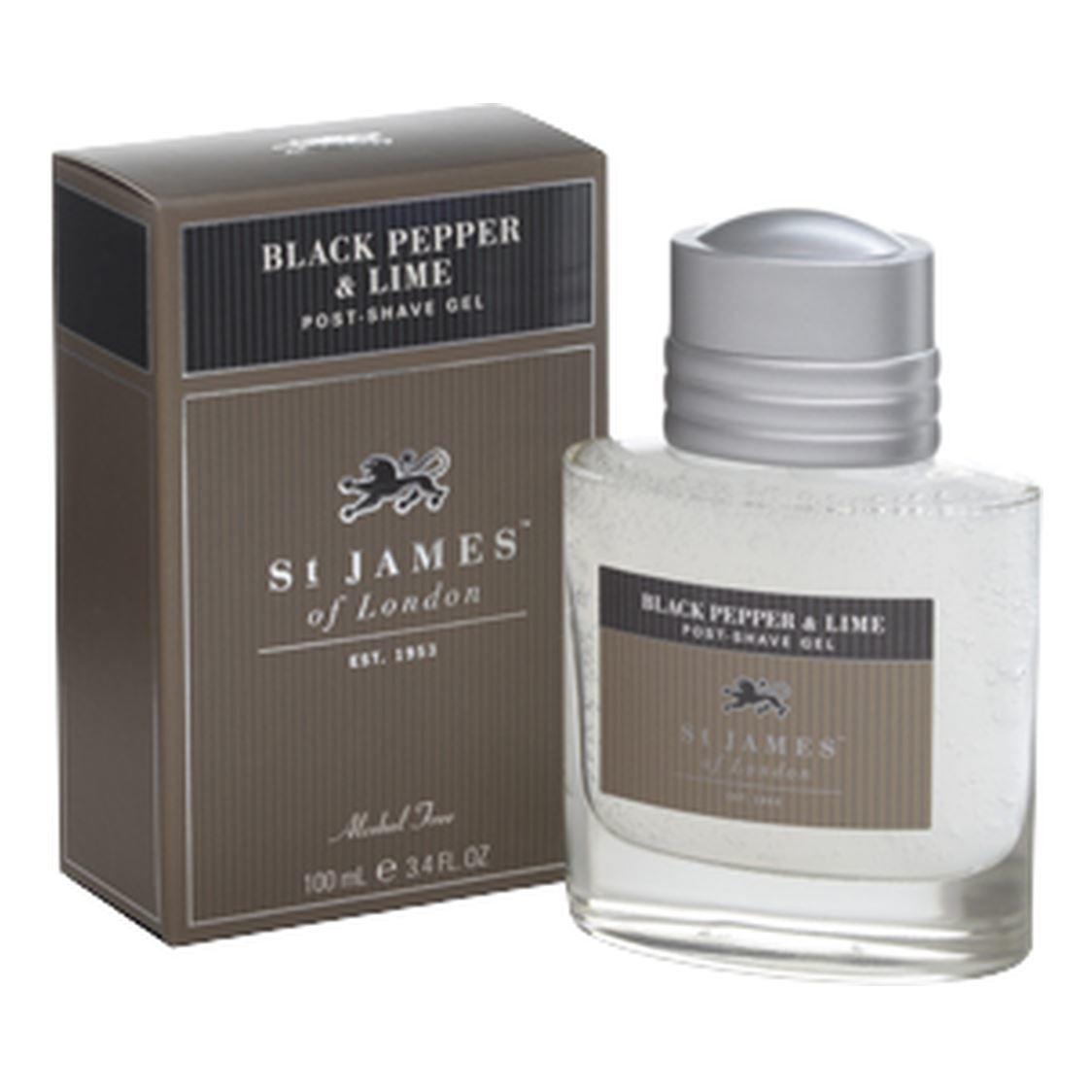 St James of London Black Pepper & Lime Large Post-Shave Gel
