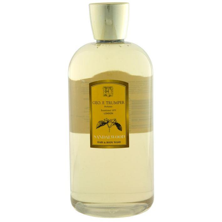 Geo F Trumper Large Sandalwood Hair & Body Wash