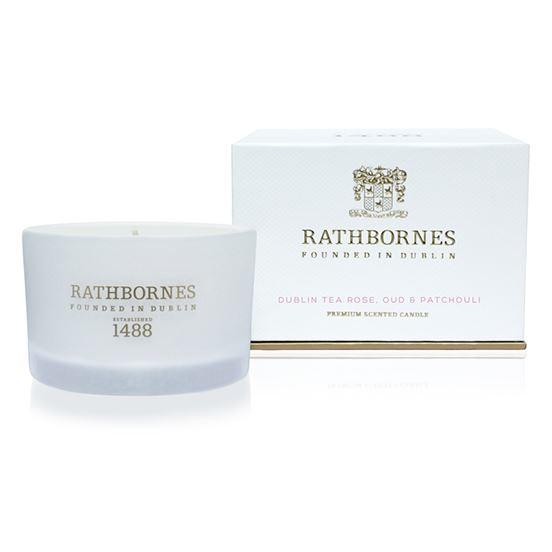 Rathbornes 1488 Cassis Leaves & Jasmine Scented Travel Candle