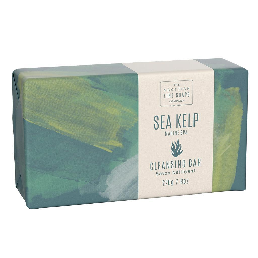 Scottish Fine Soaps Sea Kelp Marine Spa Cleansing Soap Bar (220g)