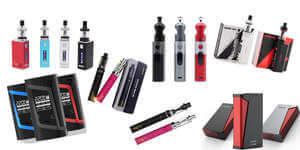 E-Cigs, Vapes, Mods and Kits
