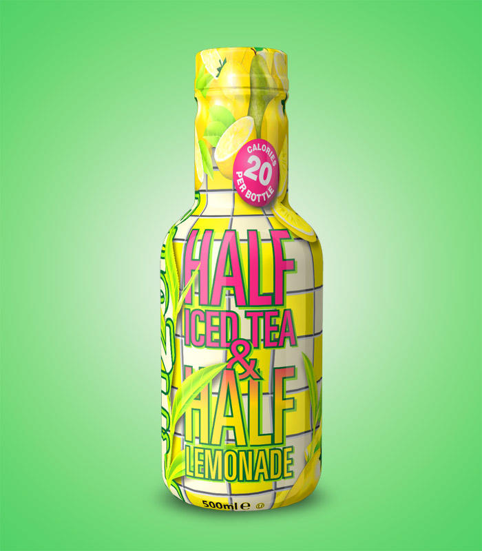 Half Iced Tea & Half  Lemonade Arizona