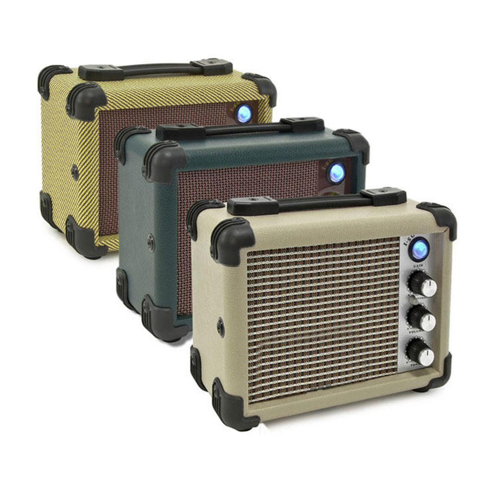 5w Vintage Style Mini Mp3 Portable Busking Amp