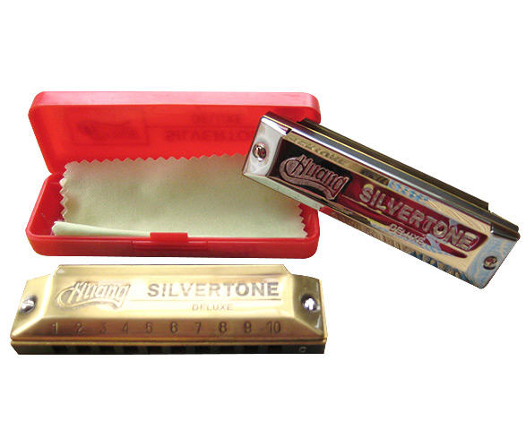 HUANG SILVERTONE DELUXE HARMONICA