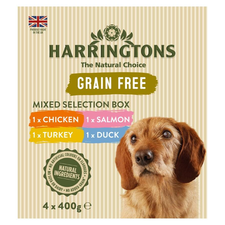 Harringtons Wet Mixed Pack Dog Food Trays