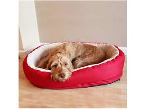 Red Orthopaedic Pet Bed