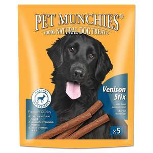 Pet Munchies Gourmet Venison Stix