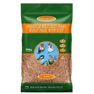 Johnson & Jeff Bird food with suet