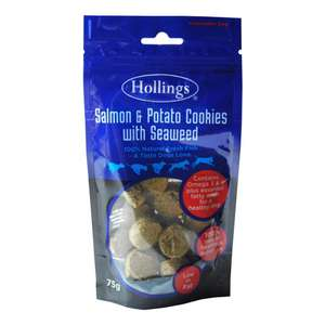 Hollings salmon and Seaweed Cookies for dogs