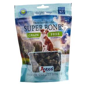 Antos Trout and spirulina Super bones Dog Training Treats