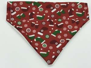 Red Christmas Dog Bandana