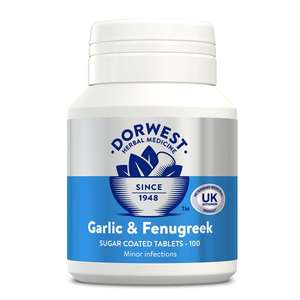 Garlic and Fenugreek Tablets