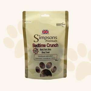 Simpsons Premium Bedtime Crunch Red Fish Skin Dog Treat