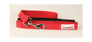 doodlebone Red Padded Lead