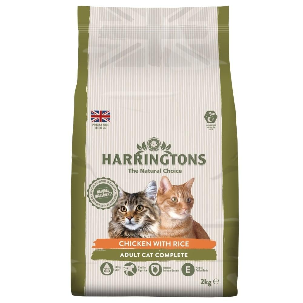 Harringtons Adult Cat Chicken & Rice 2kg