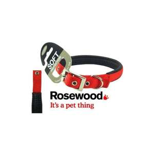 Rosewood Soft protection Red collar