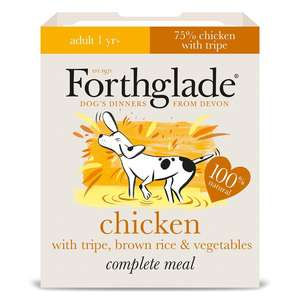 forthglade chicken tripe and rice