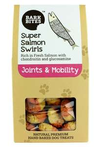 Bark bites super Salmon Swirls