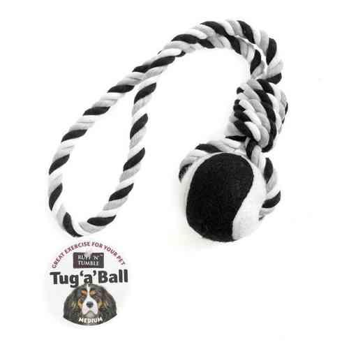 Tug a Ball rope Dog toy