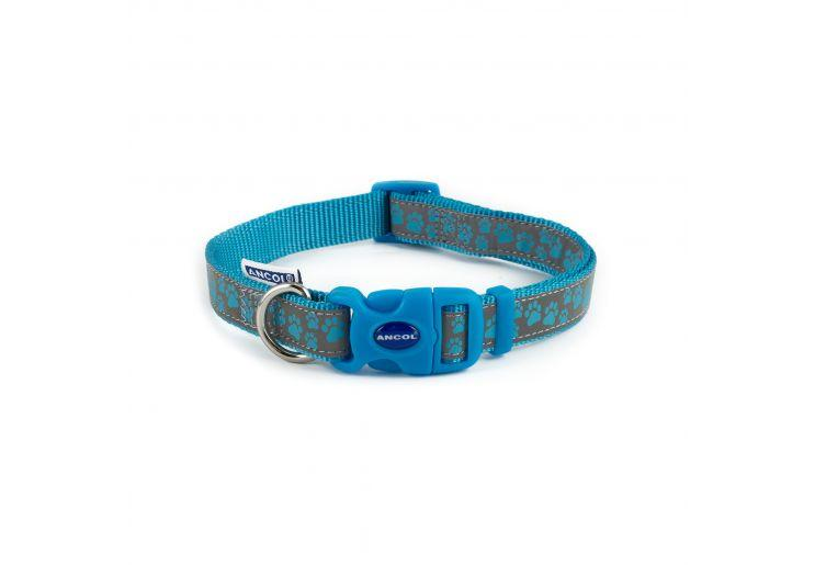 Ancol Reflective Blue Dog collar