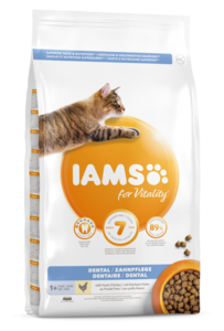 iams cat dental care
