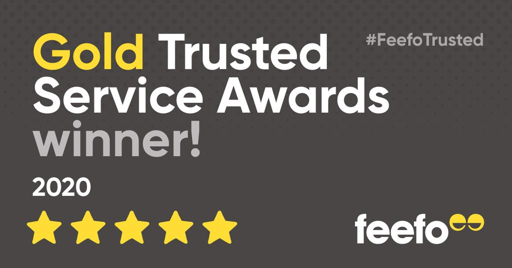Petshop Postie wins Feefo Gold Trusted Service Award 2020