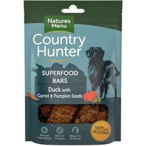 Naturesmenu duck Superfood Bars