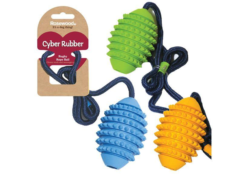 Rosewood Cyber rugby rope ball