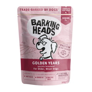 Barking Heads Golden Years Pouch Grain Free