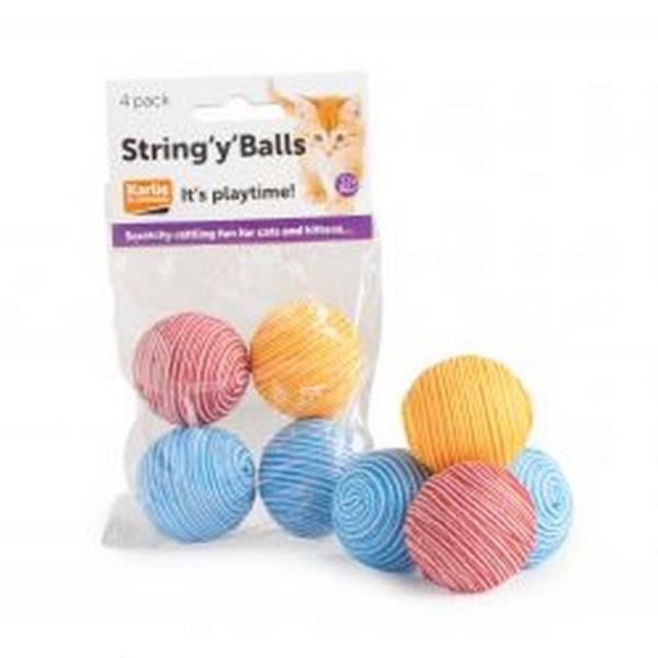 String 'y' Balls for Cats