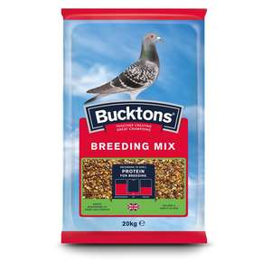 Bucktons pigeon Breeding Mix