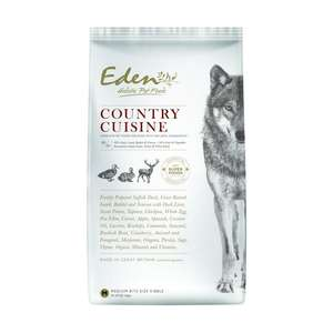 eden holistic country cuisine for dogs
