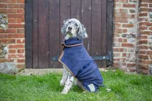 Ruff and Tumble Navy Drying coat