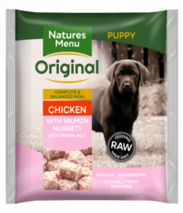nature's menu puppy nuggets