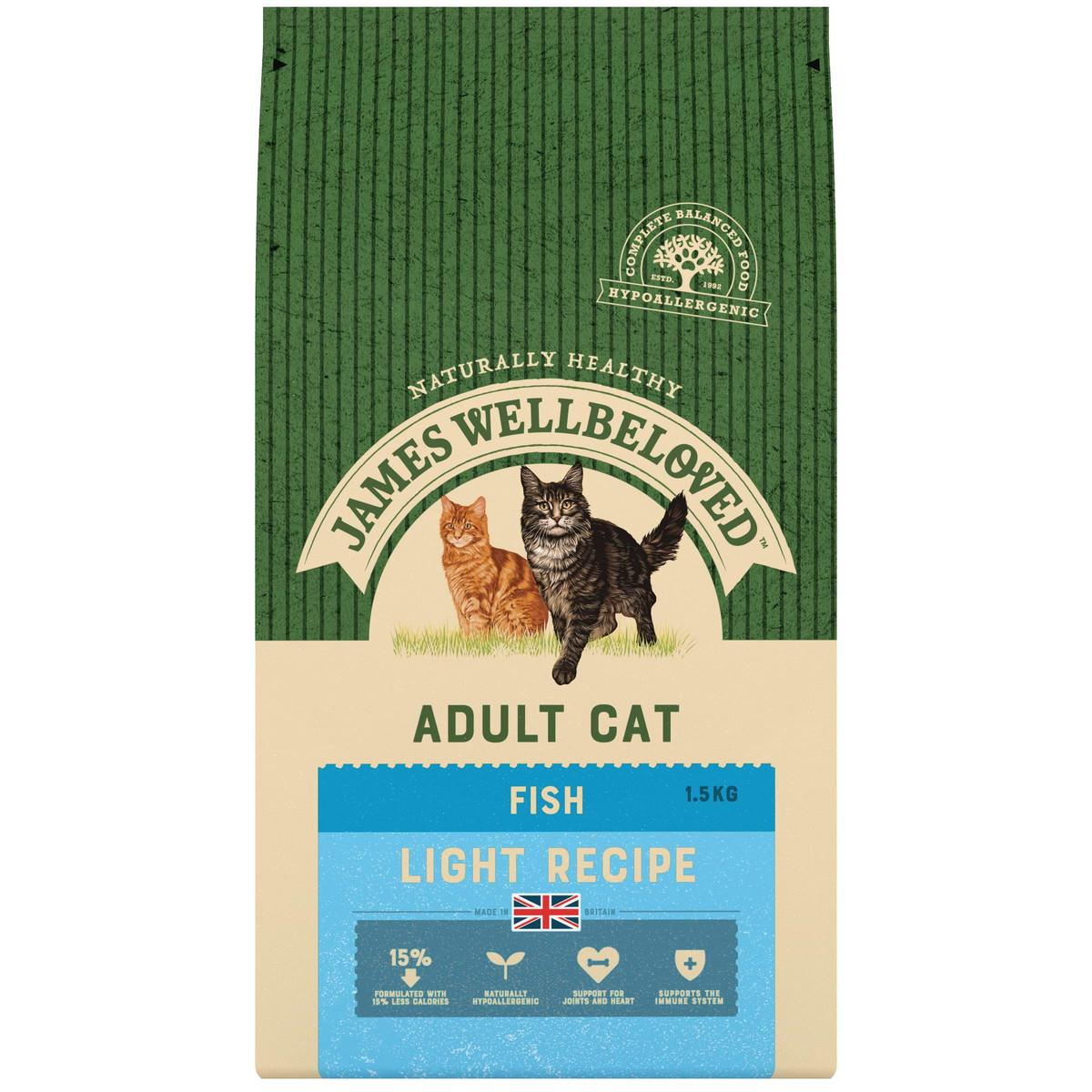 James Wellbeloved Adult Cat Light fish and Rice