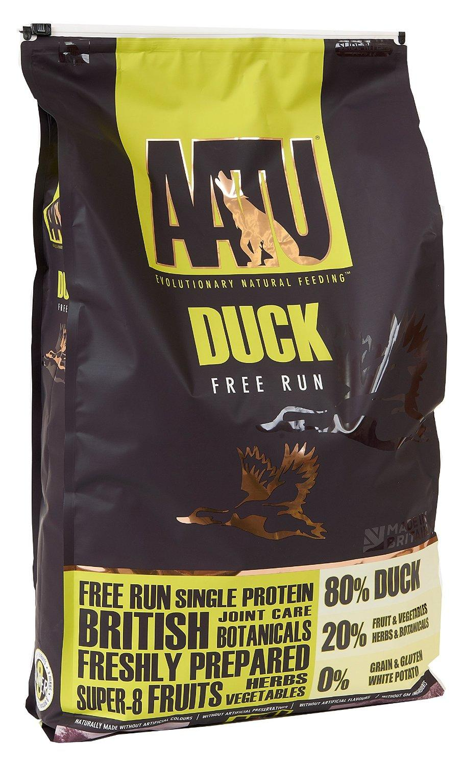 AATU Grain Free Dog Food Duck